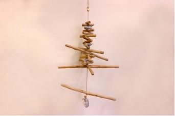 Ξύλινο Δεντράκι Κρεμαστό 63cm