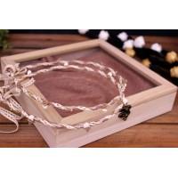 Ξύλινα Κουτιά με Γυαλί WI154746
