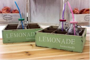 Κουτί Ξύλινο 9 Θέσεων Lemonade