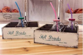 Κουτί Ξύλινο 9 Θέσεων Soft Drinks