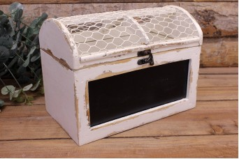 Κουτί Ξύλινο Μαυροπίνακας