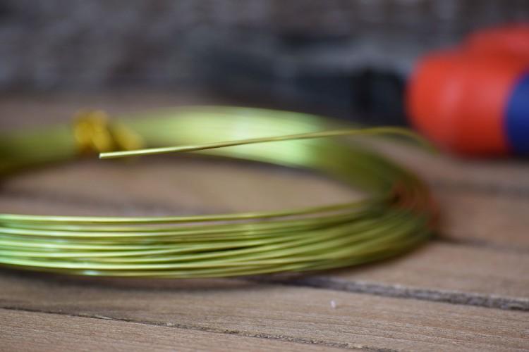 Σύρμα Χειροτεχνίας 10m Πράσινο MI134849-1-7