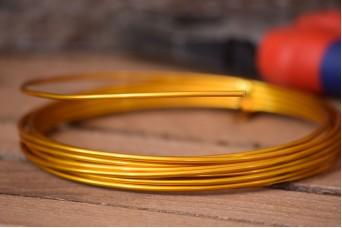 Σύρμα Χειροτεχνίας 3m Χρυσό MI134849-2-00