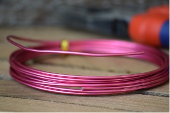 Σύρμα Χειροτεχνίας 3m Ροζ MI134849-2-01