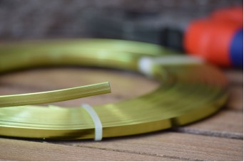 Σύρμα Χειροτεχνίας 10m Πλακέ Πράσινο MI141050-5-7