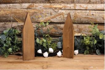 Ξύλινα Σπιτάκια 18cm WIW900-2618-BR