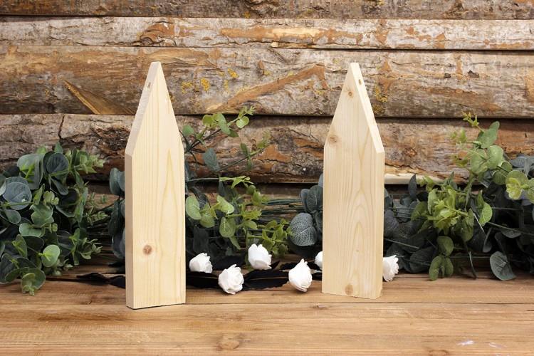 Ξύλινα Σπιτάκια 18cm WIW900-2618-N