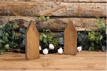 Ξύλινα Σπιτάκια 25cm WIW900-2625-BR