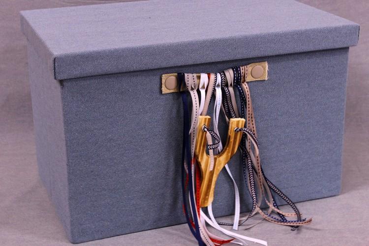 Κουτιά Βάπτισης με Σφεντόνα BX-008