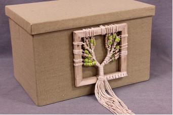 Κουτιά Βάπτισης με Boho Δέντρο Ζωής BX-003