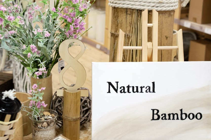 Candy Bar Natural Bamboo