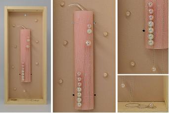 Πασχαλινή λαμπάδα με θήκη/display EC19-211