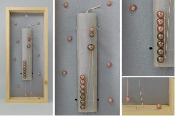 Πασχαλινή λαμπάδα με θήκη/display EC19-212