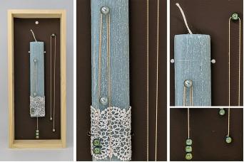 Πασχαλινή λαμπάδα με θήκη/display EC19-214