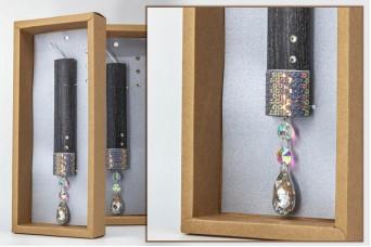 Πασχαλινή λαμπάδα με θήκη/display EC20-003-02