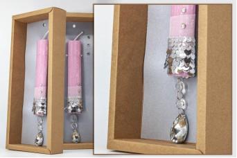 Πασχαλινή λαμπάδα με θήκη/display EC20-003-07