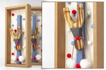 Πασχαλινή λαμπάδα με θήκη/display EC20-006-04