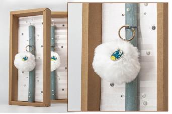 Πασχαλινή λαμπάδα με θήκη/display EC20-007-05