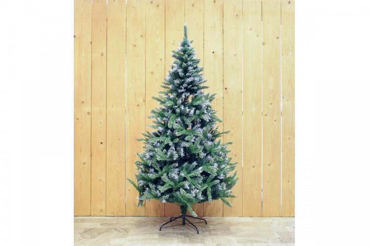 Πράσινο Δέντρο Flocked 210cm CD21-SHH028