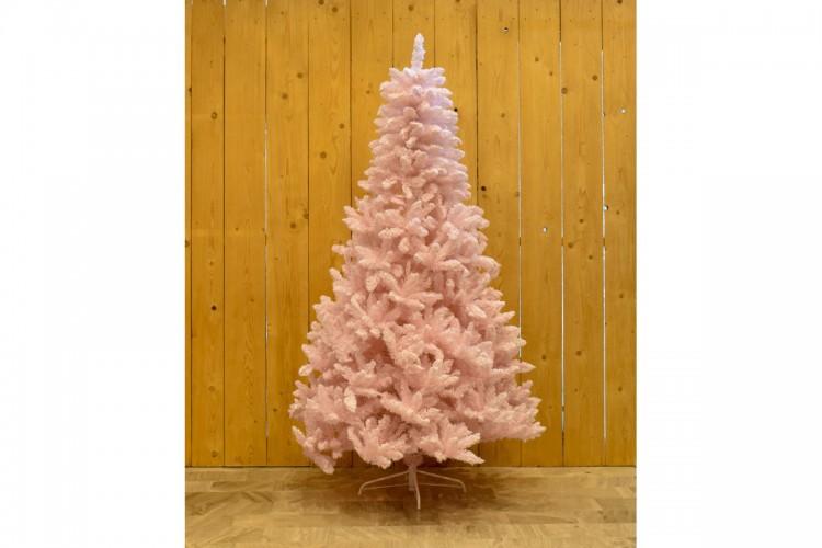 Ρόζ Χιονισμένο Δέντρο Candy Pink 210cm CD21-SHH079-210