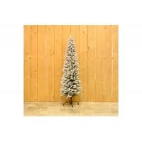Πράσινο Χιονισμένο Δέντρο Pencil Pine 180cm CD21-SHH089-180