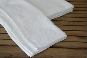 Πετσέτες Βαμβακερές 2τεμ Λευκές TWS0149