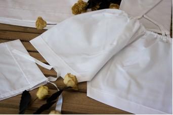 Σετ Λαδόπανα Αγοράκι Λευκό Σεντόνι-Εσώρουχα TWS85145-B