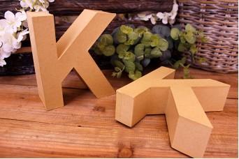 """Γράμμα """"K"""" Papier Mache"""
