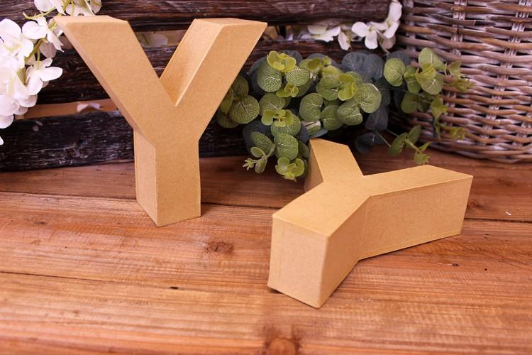"""Γράμμα """"Y"""" Papier Mache"""