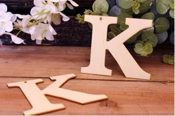 """Γράμμα Ξύλινο """"Κ"""""""