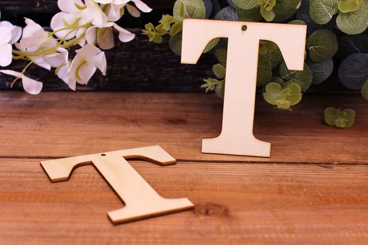 """Γράμμα Ξύλινο """"Τ"""""""
