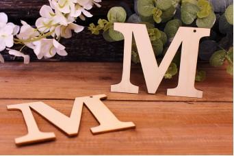 """Γράμμα Ξύλινο """"Μ"""""""