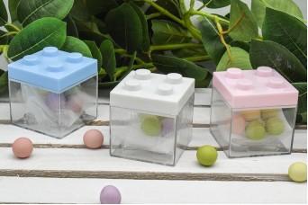 Μπομπονιέρα Βάπτισης τύπου Lego BBI-PLI0950