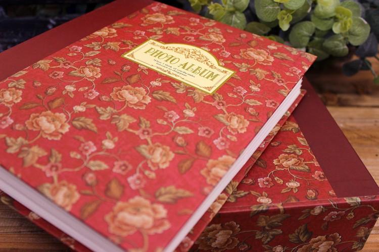 Άλμπουμ Floral Μπορντώ PI9687BX