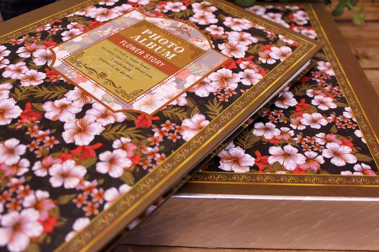 Άλμπουμ Floral Ασημί PI9692S