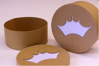 Κουτί Papier Mache Κορώνα PI3031-2
