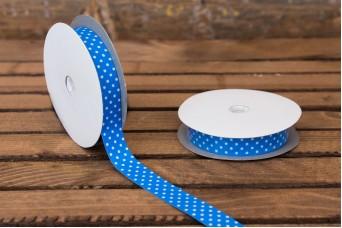 Αυτοκόλλητες Κορδέλες Πουά Μπλε H010B