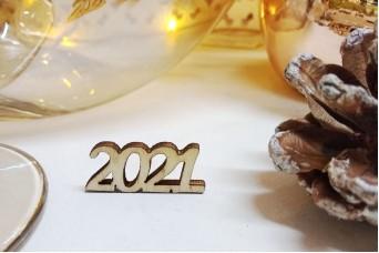 Ξύλινο 2021 3x1.4cm WIK-2021-S
