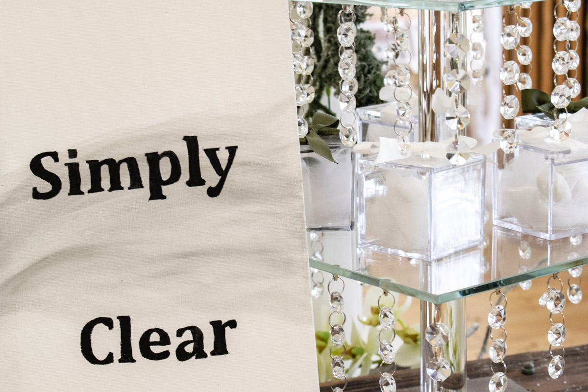 Candy Bar Simply Clear