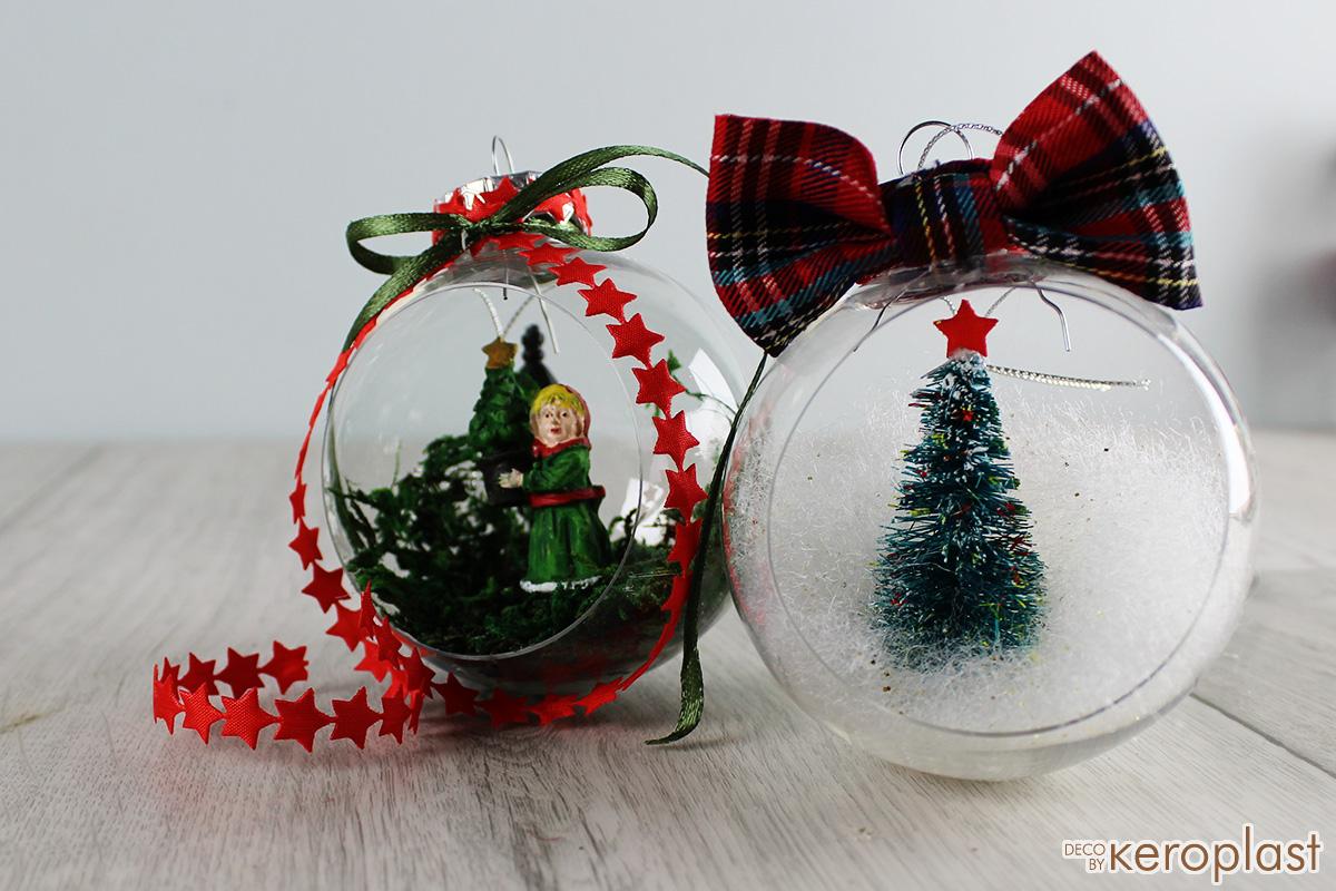 Χριστουγεννιάτικη Μπάλα με Φιγούρες