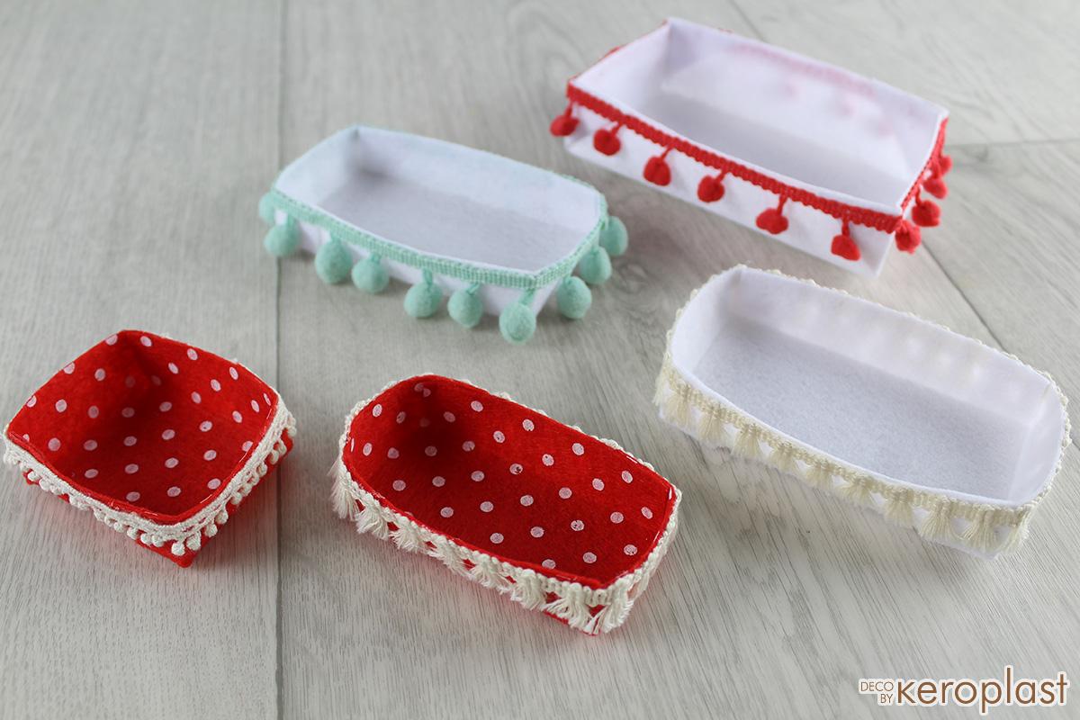 Κουτάκια από φελτ (τσόχα)